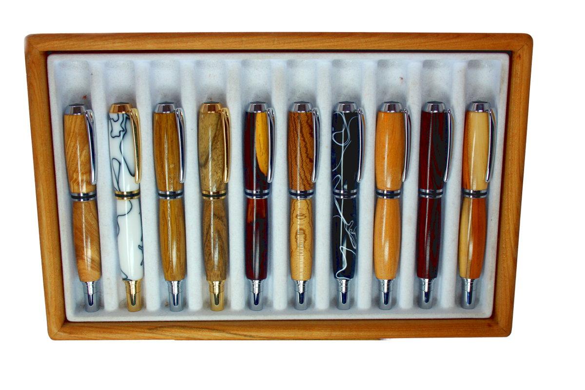 holz-kugelschreiber